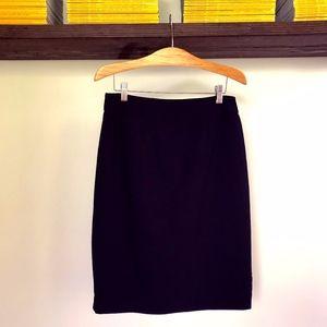 Calvin Klein Black Pencil Dress Skirt - 6